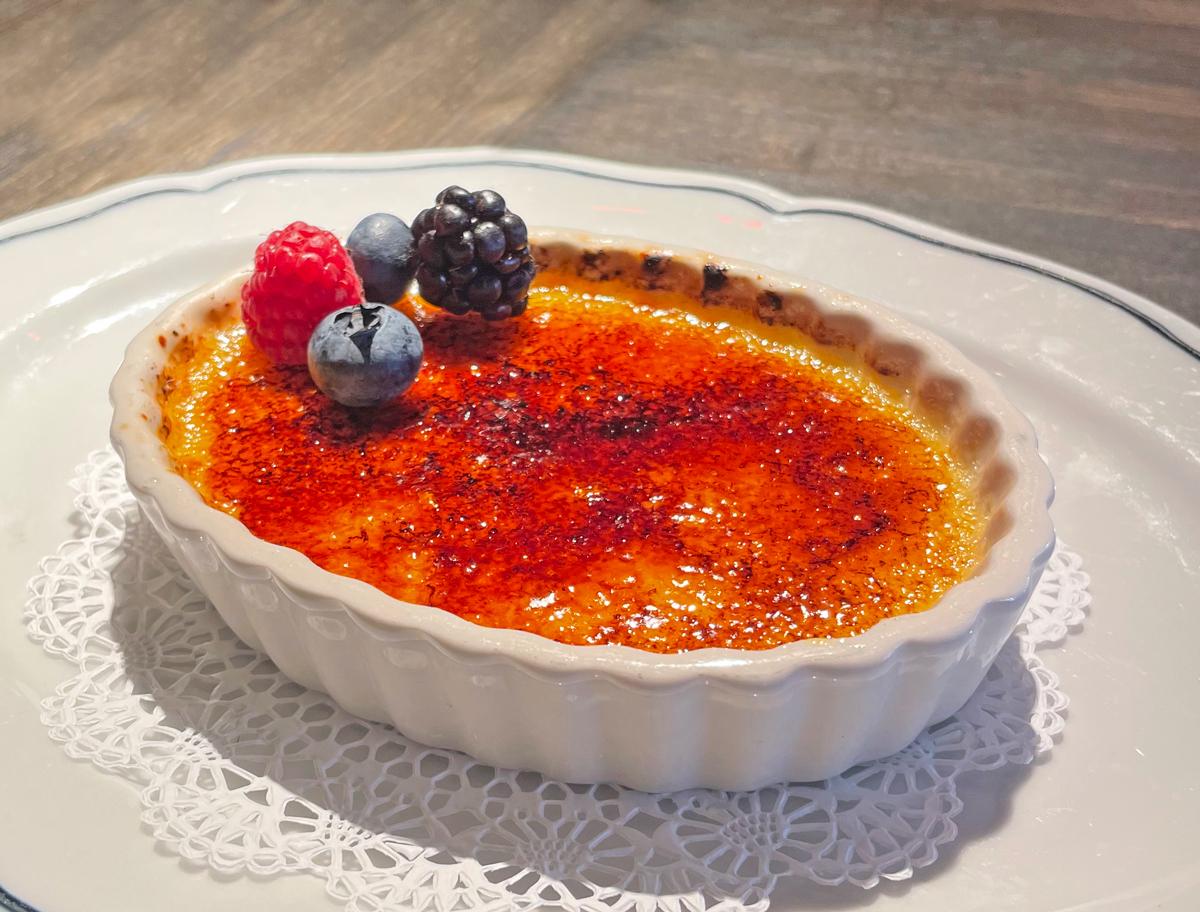The Gramercy Creme Brulee - Miami Desserts