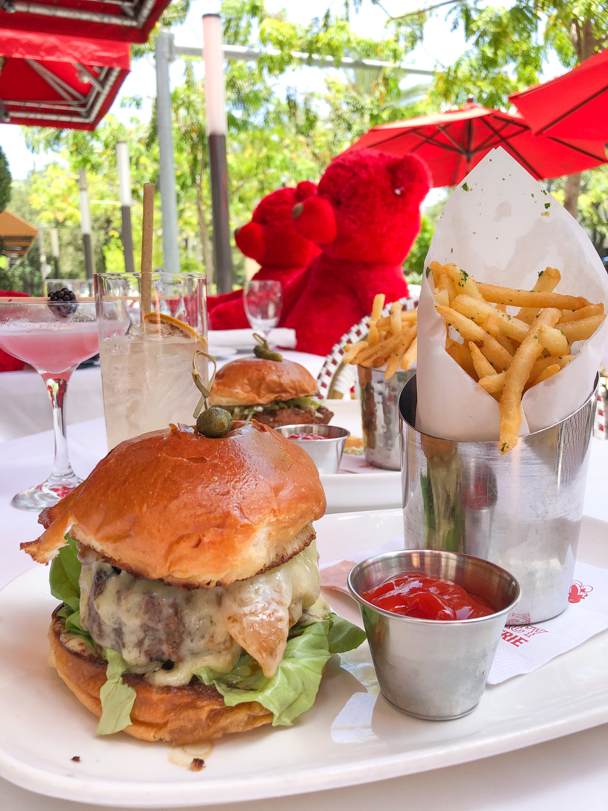 The Gramercy New Restaurant in Coral Gables burger wuth waguy beef