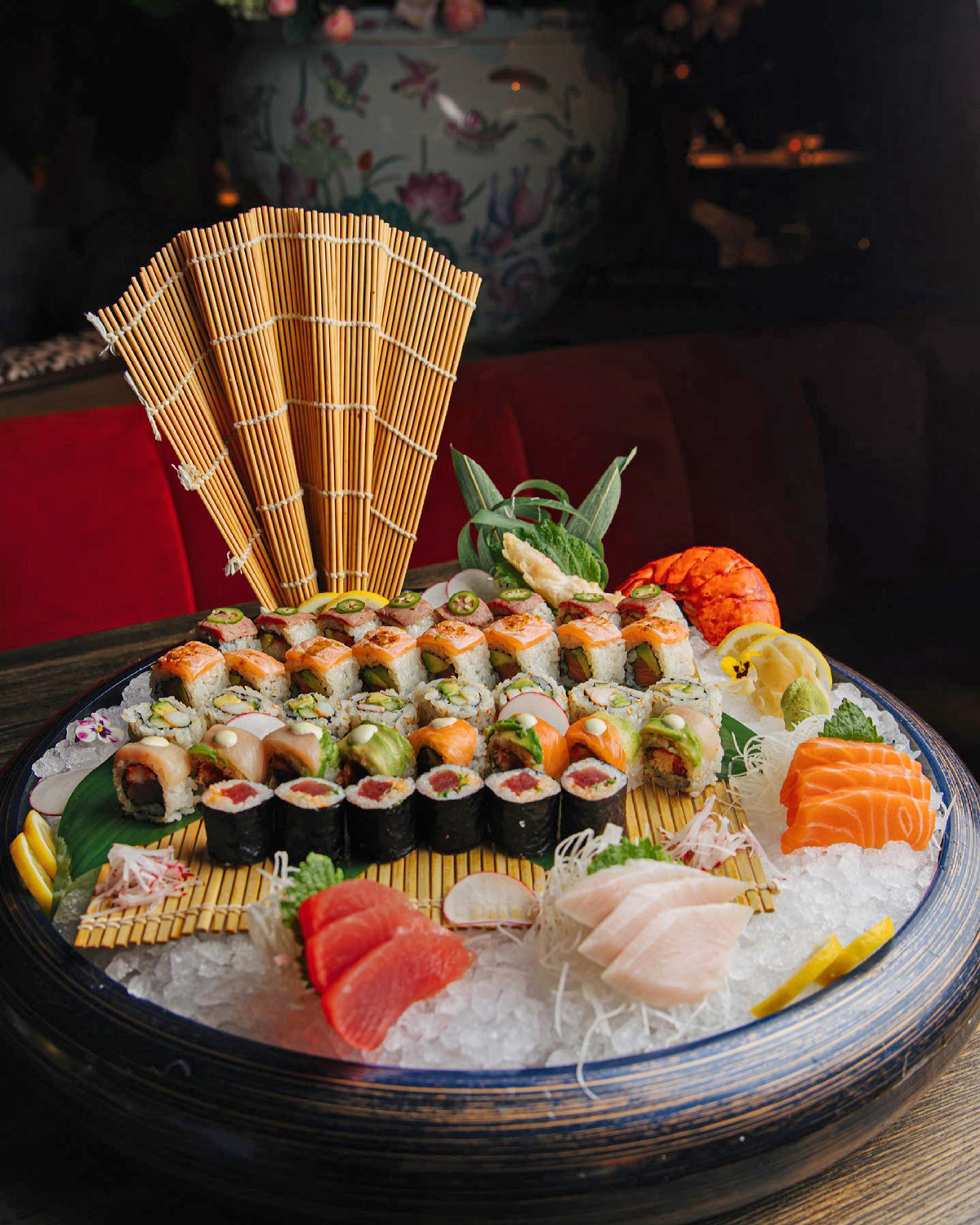 The Gramercy New Restaurant in Coral Gables sushi bento box