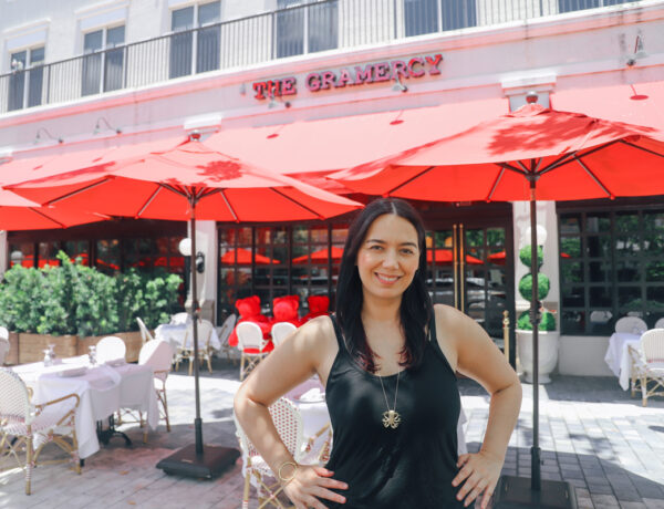 The Gramercy New Restaurant in Coral Gables fron outdoor dining on Miracle Mile